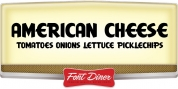 American Cheese font download