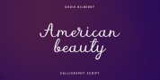 American Beauty font download