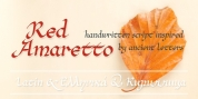 Red Amaretto font download
