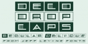 Deco Drop Caps JNL font download