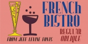 French Bistro JNL font download