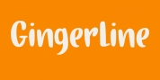Gingerline font download