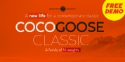 Cocogoose Classic font download