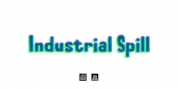 Industrial Spill font download