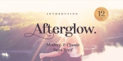 Afterglow font download