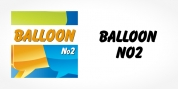 Balloon No2 font download