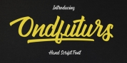 Ondfuturs font download