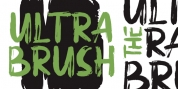 Ultra Brush font download