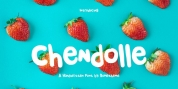 Chendolle font download