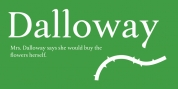 Dalloway font download