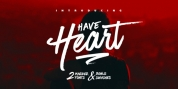 Have Heart font download