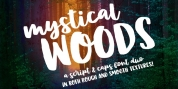 Mystical Woods font download