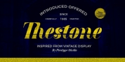 Thestone font download