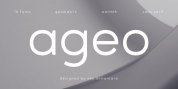 Ageo font download