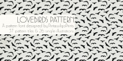 LoveBirds Pattern font download