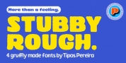Stubby Rough font download