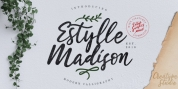Estylle Madison font download