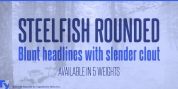 Steelfish Rounded font download