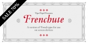 Frenchute font download