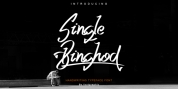 Single Binghod font download