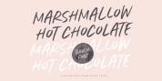 Marshmallow Hot Chocolate font download