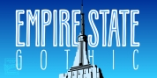 Empire State Gothic font download