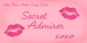 Secret Admirer font download