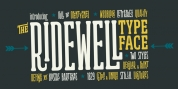 Ridewell font download