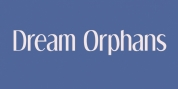 Dream Orphans font download