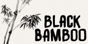 Black Bamboo font download