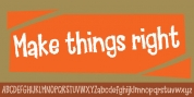 Make Things Right font download