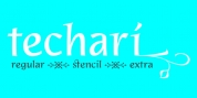 Techari font download