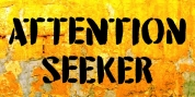 Attention Seeker font download