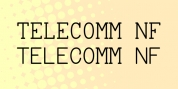 Telecomm NF font download