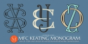 MFC Keating Monogram font download
