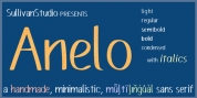 Anelo font download
