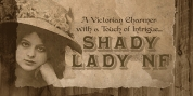 Shady Lady NF font download