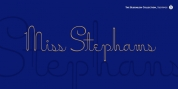 Miss Stephams Pro font download
