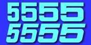 Sport Numbers font download