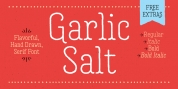 Garlic Salt font download
