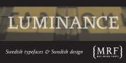 Luminance font download