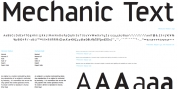 Mechanic font download