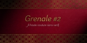 Grenale #2 font download