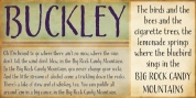 Buckley font download