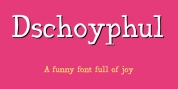 Dschoyphul font download