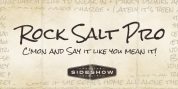 Rock Salt Pro font download