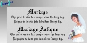 Mariage font download