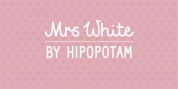 Mrs White font download