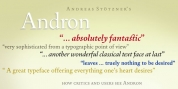 Andron Freefont font download