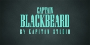 Captain Blackbeard font download
